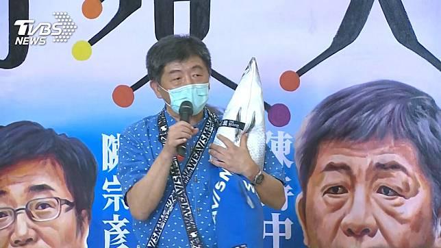 鐵人部長陳時中。(圖/TVBS資料畫面)