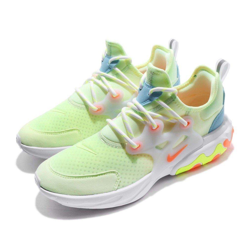 休閒慢跑鞋品牌:NIKE型號:BQ4002-700品名:React Presto配色:綠色,橘色