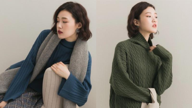 秋冬『毛衣』穿搭不NG!討論度極高的極簡毛衣款式出爐~
