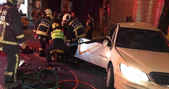 BMW小開酒駕撞死人 同車2辣妹相驗只顧玩手機