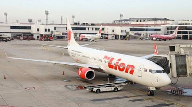 Pesawat Lion Air. (Shutterstock)