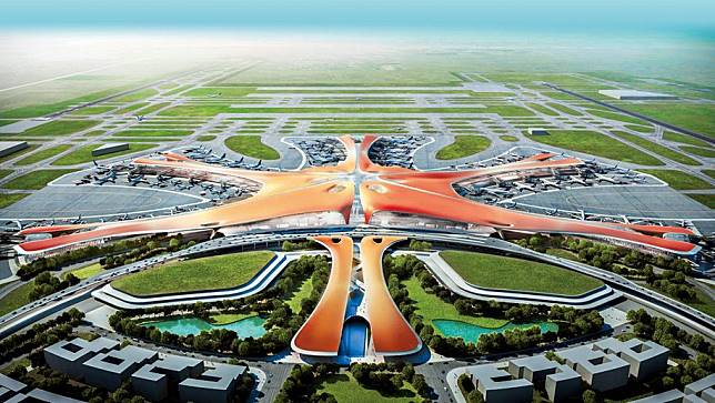 """""""เล็กๆไม่ ใหญ่ๆต้องจีน""""  สร้างสนามบิน""""ใหญ่""""ที่สุดในโลก"""