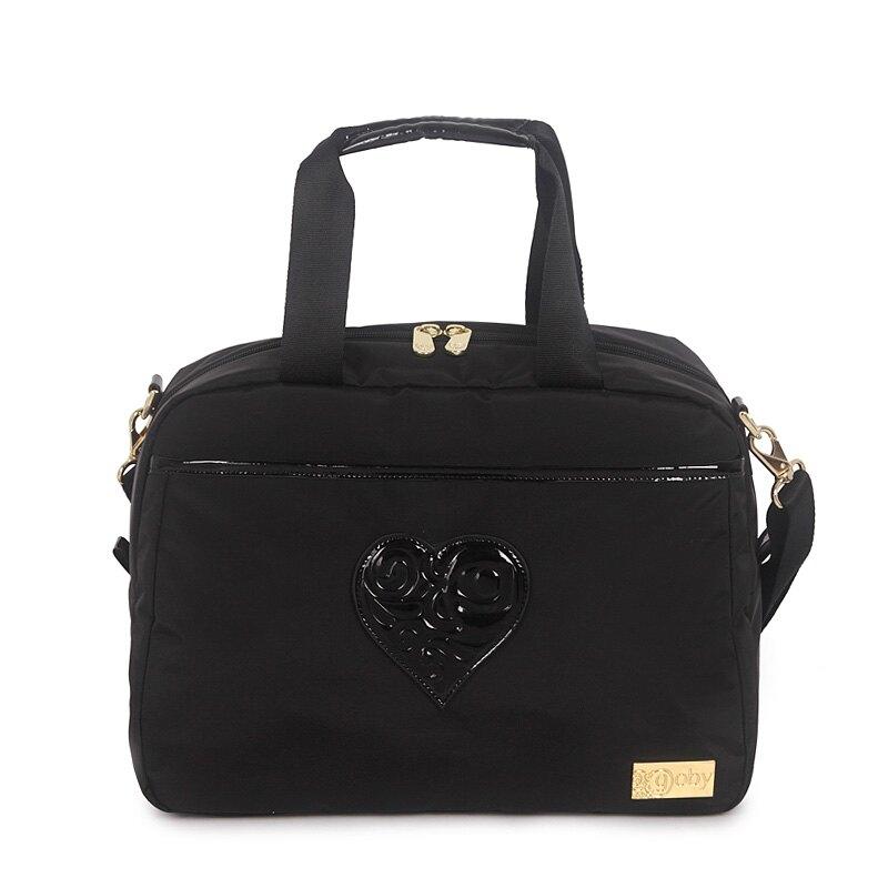 GOBY果比 Love系列-旅遊商務袋-黑-L301 [禾雅時尚]。人氣店家禾雅時尚國際的▶ 女生包款、▶ 手提包   肩背包有最棒的商品。快到日本NO.1的Rakuten樂天市場的安全環境中盡情網路