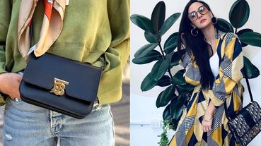 BV、Celine、Dior都大推的秋冬「復古方包」是這幾款 !二萬有找的上班族時髦方包推薦