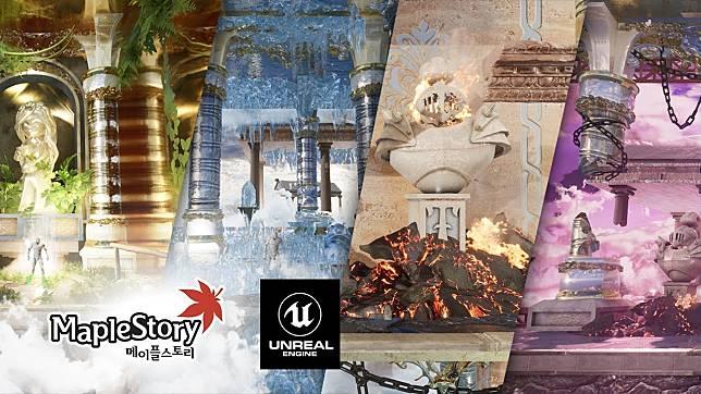 Seorang Fans membuat Maple Story dengan Unreal Engine 4