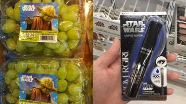 沾光《星際大戰:原力覺醒》風潮 各種商品無下限的行為簡直已經失控....