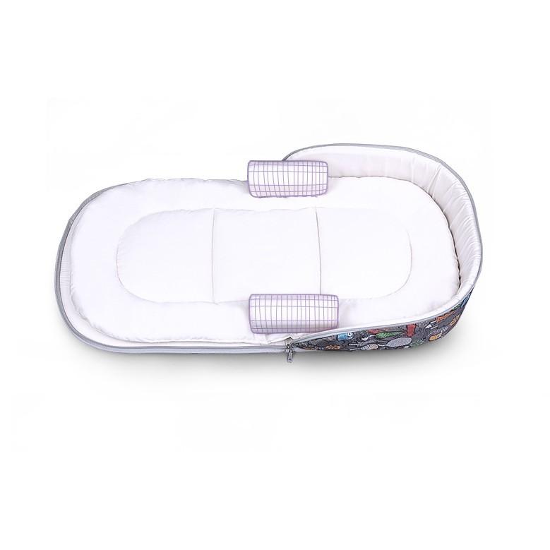 便攜嬰兒床 中床 新生兒多功能寶寶床 中床 旅行床 可折疊童床