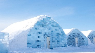 北海道期間限定的冰酒店