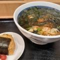 わかめそば - 実際訪問したユーザーが直接撮影して投稿した新宿そばそば処 信州屋 新宿南口店の写真のメニュー情報