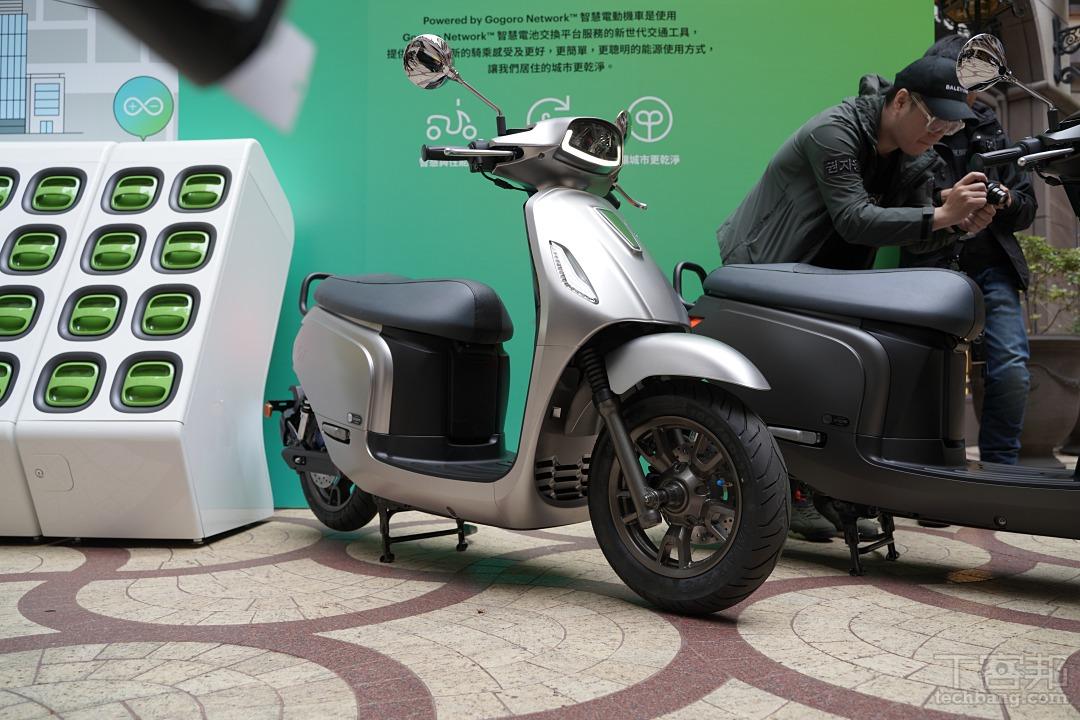 PGO 搭載 Gogoro 系統電動車「Ur1」登場,圖多細節現場看