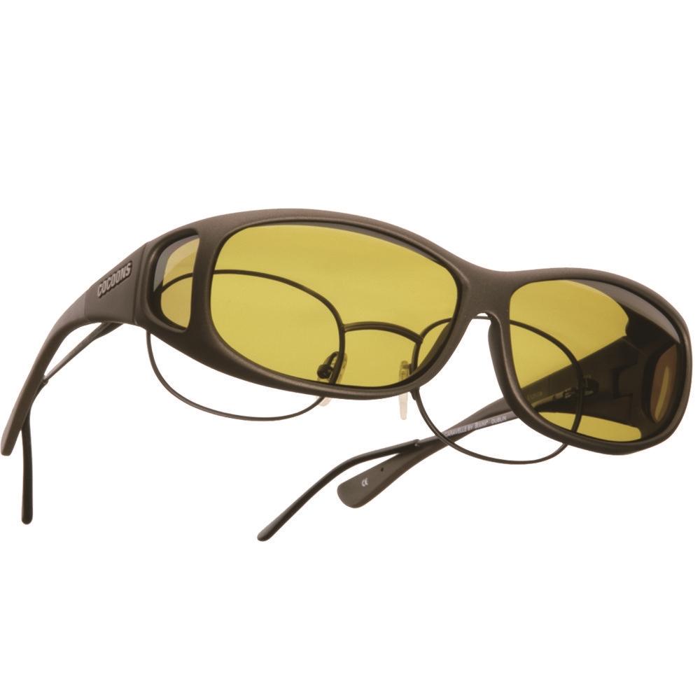 cocoons專業包覆式偏光太陽眼鏡(黃色)