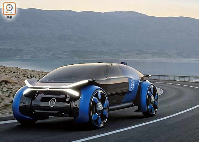 Citroën發表全新純電動概念作19_19,膠囊式車身設計,充滿未來感。(互聯網)