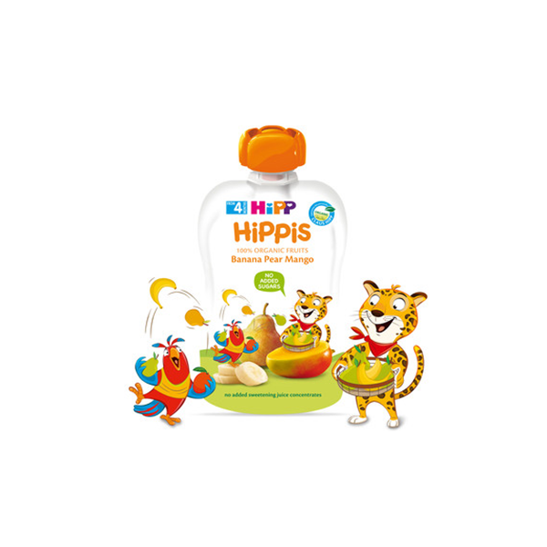 hipp喜寶商品皆按照嚴格的有機農作規則種植,絕不使用肥料或農藥。hipp喜寶水果泥皆是根據小寶寶的營養需求生產製造,我們希望食品愈簡單愈好,絕不使用勾芡粉、人工色素或防腐劑,完全遵循法律的要求。寶寶