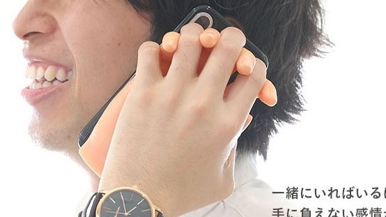 沒有女友?專屬的日本『女友小手』手機殼,給你滿滿溫柔呵護!