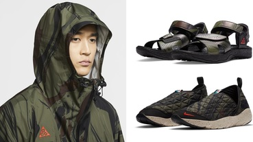 官方新聞 / 熔岩迷彩致敬日本名山 Nike ACG 推出 Mt. Fuji 系列