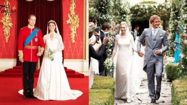 只能流露羨慕的眼神!4個皇室貴族的世紀婚禮,華麗氣派盡現〜