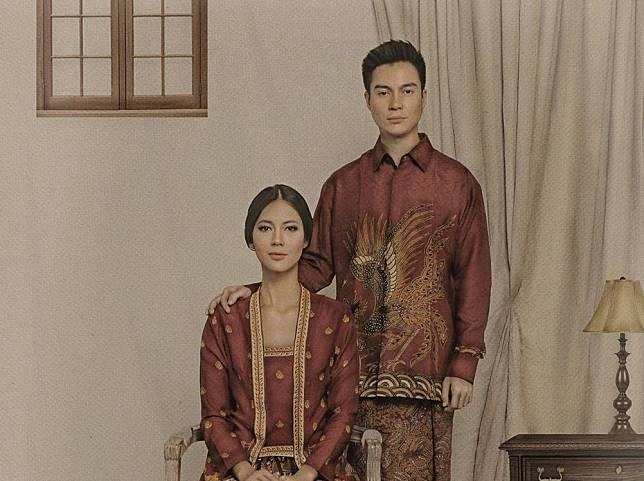 Gelar 7 Bulanan, Paula Verhoeven Tampil Anggun Berbalut Adat Jawa