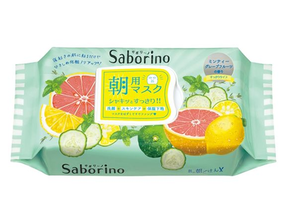 BCL Saborino早安面膜(清爽型)(32枚入)【D186335】