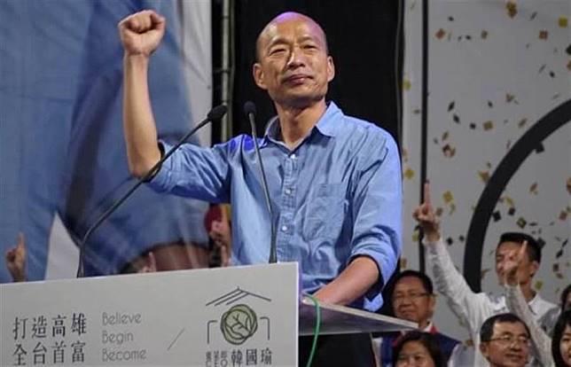 高雄市長韓國瑜。(劉宥廷攝)