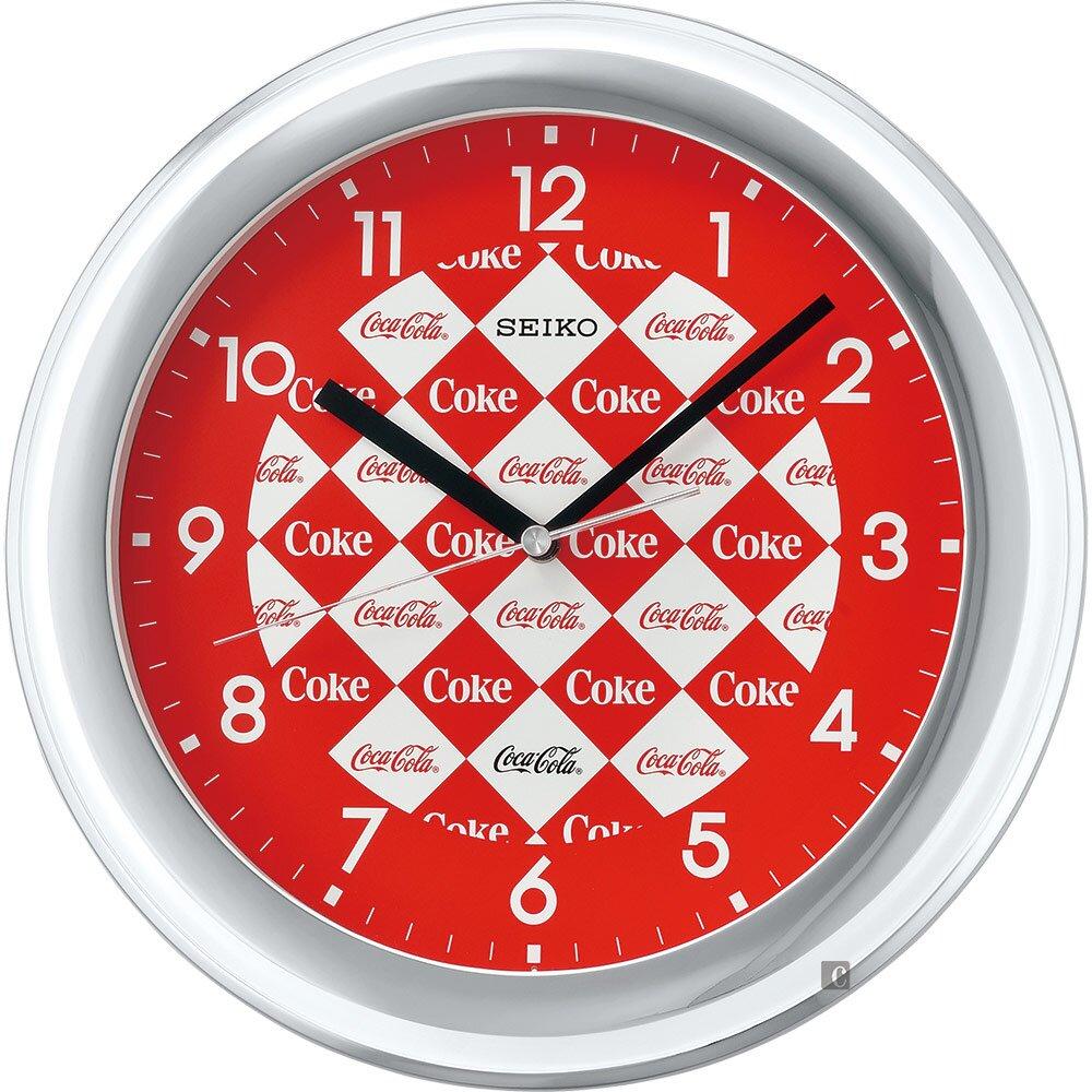 原廠公司貨阿拉伯數字時標,聯名掛鐘外表或質感都更復古情懷料號:QXA933W