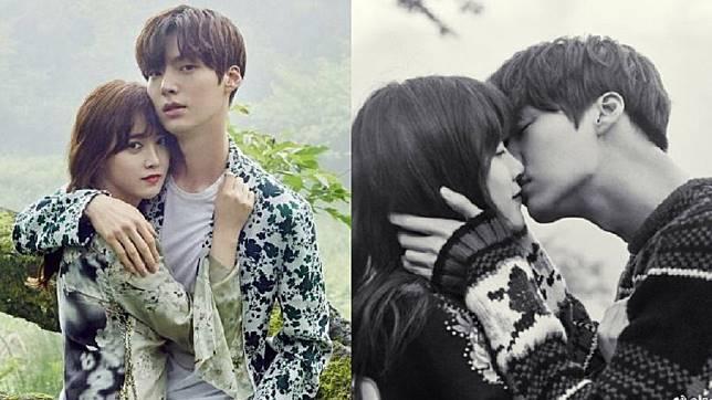 南韓女星具惠善和男星老公安宰賢。圖/翻攝自微博