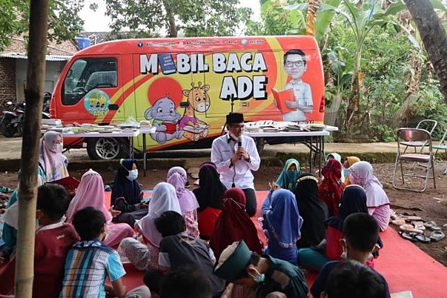 Anggota DPRD Lampung mengajak budayakan literasi sejak dini