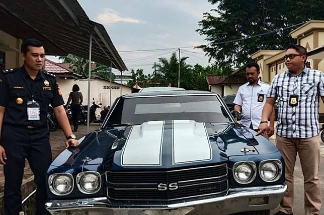 Chevrolet Chevelle SS selundupan dari Malaysia