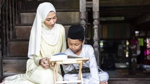 Ilustrasi Anak Belajar Mengaji/ Foto: Getty Images/iStockphoto/Poetra Dimatra