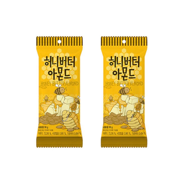 【Toms Gilim】蜂蜜奶油杏仁果30g隨手包(2入組C-002-03)