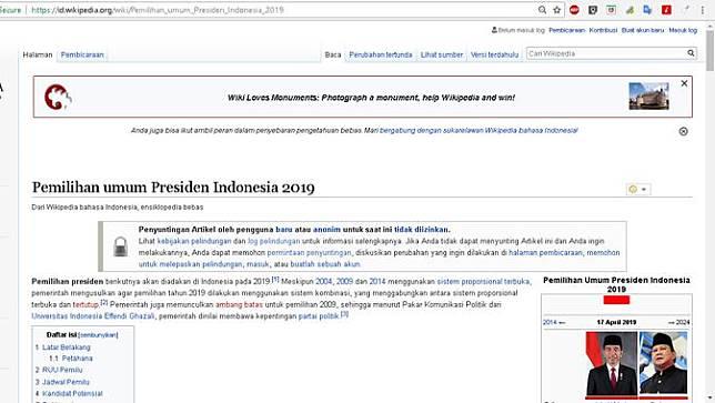 Wikipedia Bahasa Indonesia Di Tengah Pusaran Politik