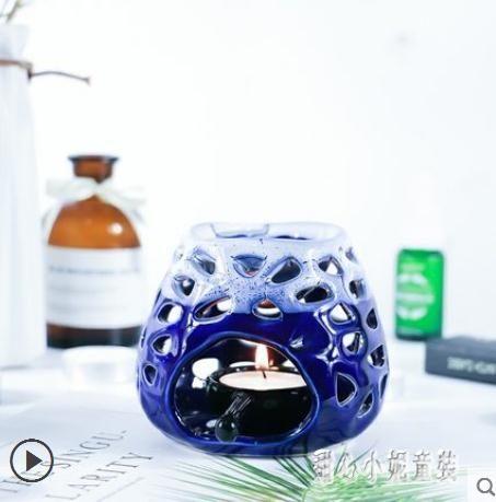 陶瓷香薰爐熏香爐用蠟燭精油爐香薰燈瑜伽居室泰式SPA館