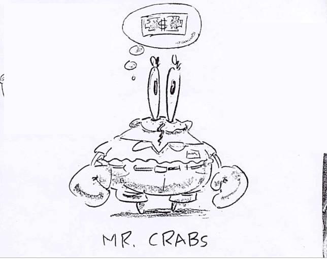 Sketsa Asli 10 Karakter Spongebob Karya Stephen Hillenburg