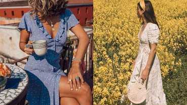 連身裙買對體重直接少一半?消小腹、蝴蝶袖、虎背熊腰,夏天挑裙裝靠這3招!