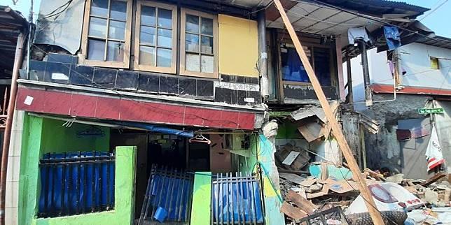 Rumah Ambruk karena Galian Saluran, Pemilik Berharap Pemkot Bertanggung Jawab