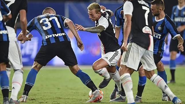 Adu Penalti, Juventus Kalahkan Inter di ICC 2019