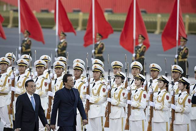 Pakistani Prime Minister Imran Khan seeks Chinese support over Kashmir as he starts Beijing visit