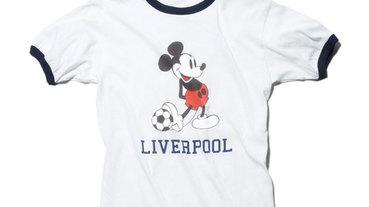 Sophnet 'Mickey Mouse' 米其踢足球 T-Shirt