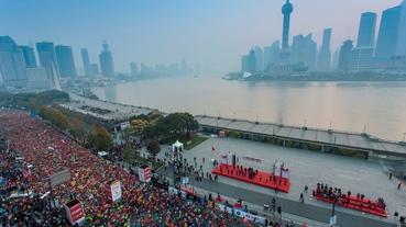 上海國際馬拉松 / NIKE 運動科技體驗 #跑了就懂#