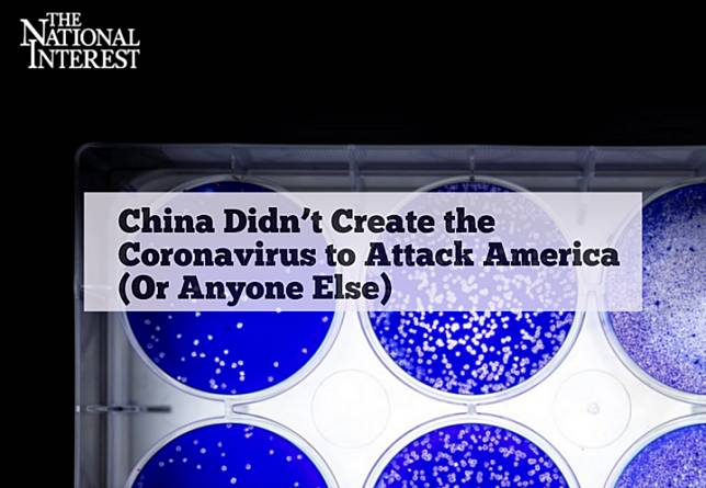 นิตยสารการเมืองสหรัฐฯ ปัด 'จีนสร้างโควิด-19 โจมตีอเมริกา' ด้วย 3 เหตุผล