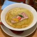 鯛塩そば - 実際訪問したユーザーが直接撮影して投稿した舟町ラーメン・つけ麺鯛塩そば 灯花の写真のメニュー情報