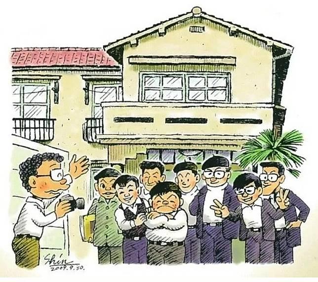 當年漫畫家筆下的常盤莊,是他們的家與奮鬥之地。(互聯網)