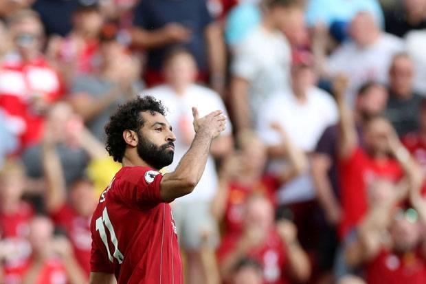 Salah Menyala, Liverpool Lumat Arsenal