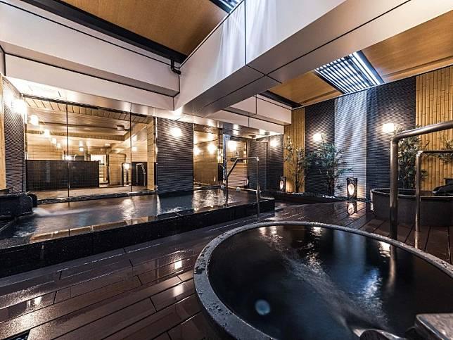 二樓設有大浴場及露天風呂,讓人疲勞盡消。(互聯網)