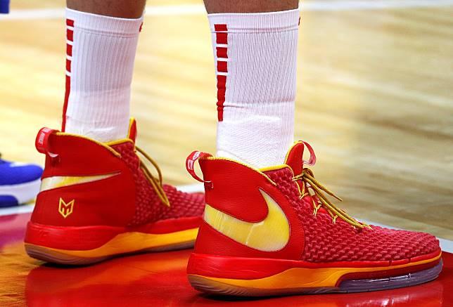 Marc Gasol專屬戰靴是Nike AlphaDunk(圖/達致影像)