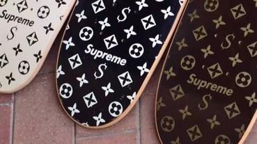 Supreme「Louis Vuitton」全套三塊滑板在 eBay 以約美金 30000 元售出