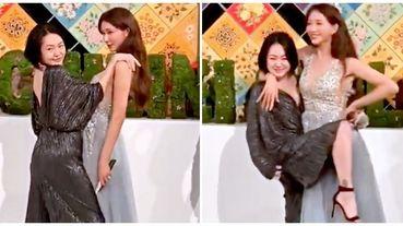 林志玲婚禮小S 到場祝福:「難免會有想要握拳的時候,這時候你要XXX」讓全場笑爆