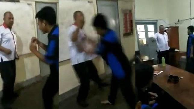 Siswa SMK Tantang Guru karena Gak Terima HP-nya Disita, Videonya Viral