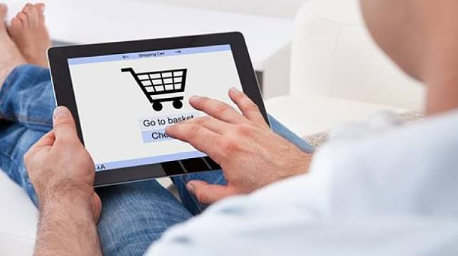 Ilustrasi belanja online. (Shutterstock)
