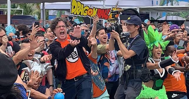 《七龍珠》打破金氏世界紀錄,世界最大級「龜派氣功」Comic Con大成功