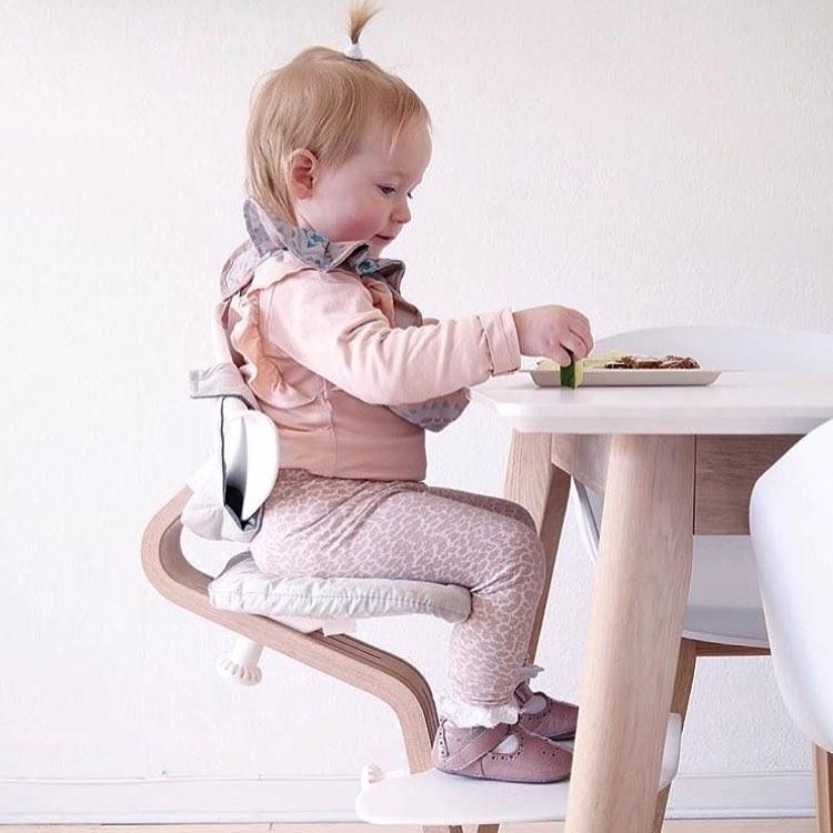 丹麥nomi 多階段兒童成長學習調節椅餐椅(經典組)